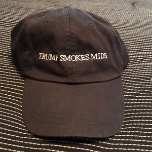 Trump Smokes Miss Baseball Hat